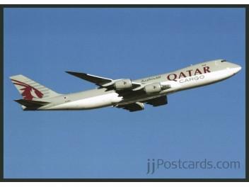 Ansichtskarte qatar airways cargo b jjpostcards