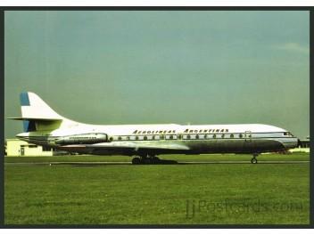 Aerolineas Argentinas, Caravelle