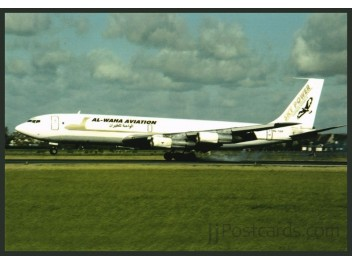 Al-Waha Aviation, B.707