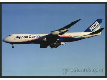 Nippon Cargo - NCA, B.747