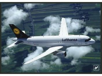 Lufthansa, A319