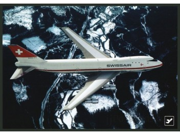 Swissair, B.747