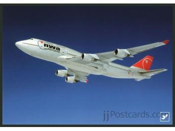 Northwest, B.747