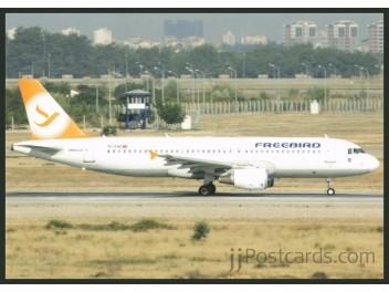 FreeBird, A320 - jjPostcards