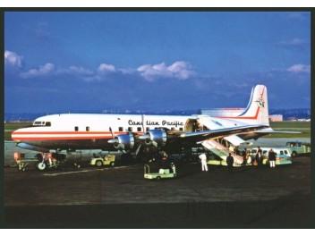 Postcard - Canadian Pacific, DC-6 - jjpostcards com