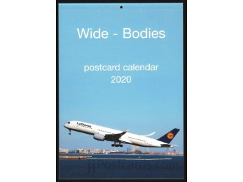 Calendar 'Wide-Bodies' 2020, 13 cards
