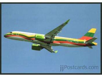 Postcard Air Baltic A220 Jjpostcardscom