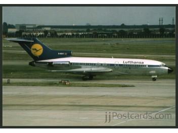 Lufthansa, B.727