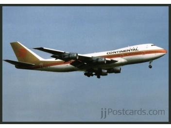 Continental, B.747