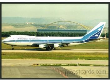 Aerolineas Argentinas, B.747
