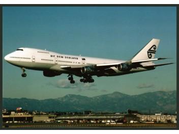 Air New Zealand, B.747