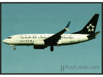 United/Star Alliance, B.737