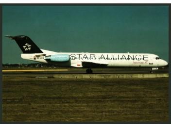 Austrian/Star Alliance, Fokker 100