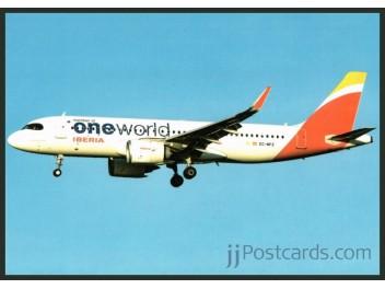 Iberia/oneworld, A320neo