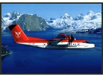 Grønlandsfly - Greenlandair, DHC-7