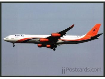 Kam Air, A340