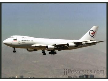 Fars Air Qeshm, B.747