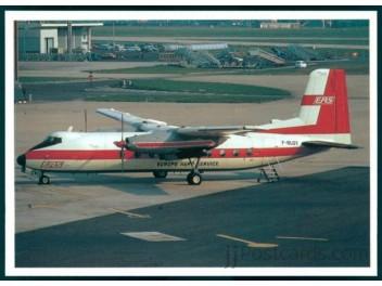 Europe Aéro Service - EAS, Dart Herald - jjPostcards