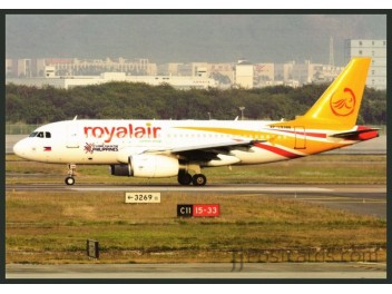 Royalair, A319