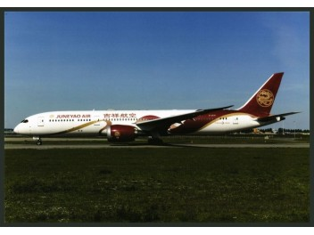 Juneyao Airlines, B.787