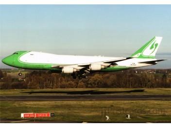 Challenge Airlines, B.747