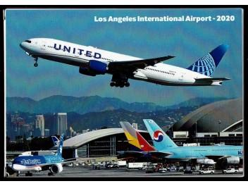Set 3 Los Angeles Airport, 36 postcards