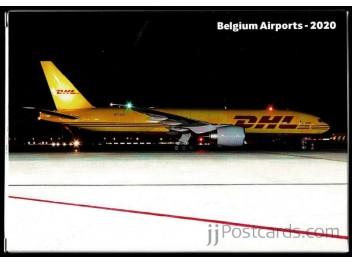 Set Airports in Belgium 36 postcards