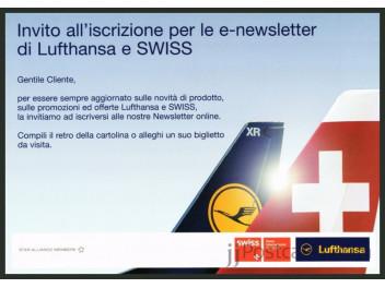 Swiss/Lufthansa, advertising