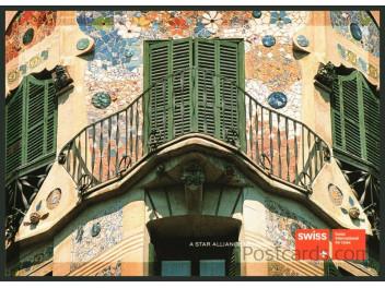 Swiss, advertising Palma de Mallorca