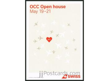 Swiss, advertising, OCC Open Day