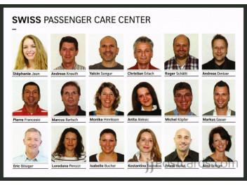 Swiss, staff Passenger Care