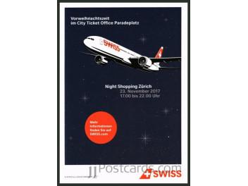 Swiss, advertising, B.777