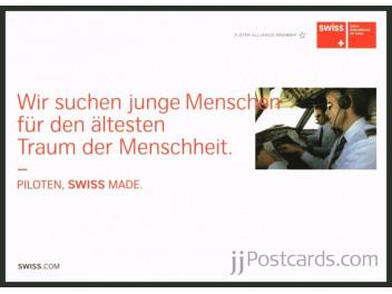 Swiss, cabin / pilot, copilot