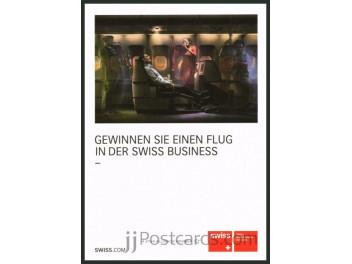 Swiss, cabin Business Class