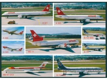 Zurich: Swissair, SAS, Olympic, etc.