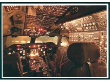 Cockpit, KLM B.747-206B