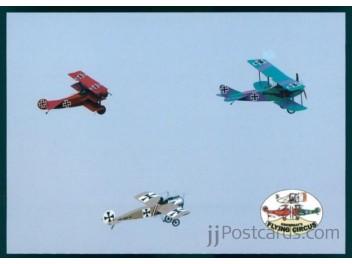 Albatros/K.C., Fok. Dr. I, E. III, DFW C V