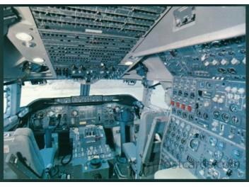 Cockpit, Swissair B.747